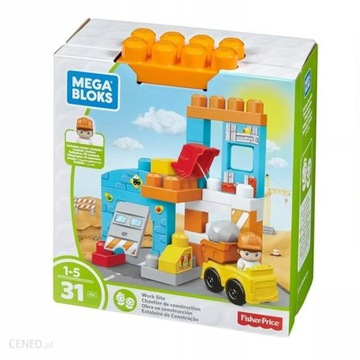 Wesoły Plac Budowy  Fisher-Price Mega Bloks