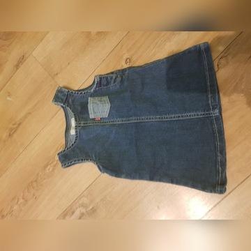 Sukienka jeansowa Levis