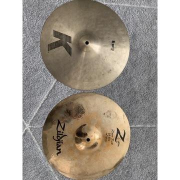 "Zildjian hi-hat 14"" K top + Z custom"