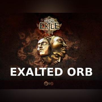 PATH OF EXILE - 1x EXALTED ORB - DELIRIUM 5min POE