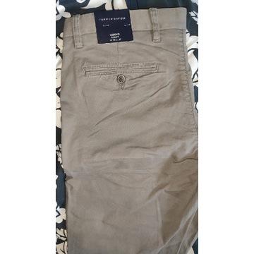 Spodnie Tommy Hilfiger Bleecker Slim Chinos 34/32