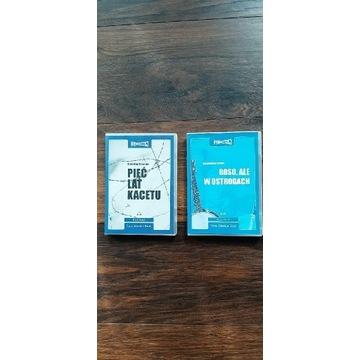 Audiobook,książka czytana Grzesiuk zestaw