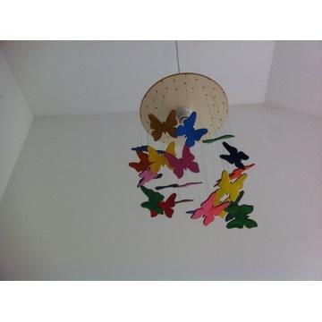 Żyrandol motylkowy