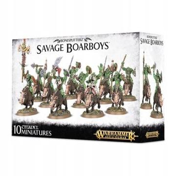 Warhammer Bonesplitterz Savage Boarboys