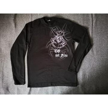 Koszulka z długim rękawem longsleeve skorpion M