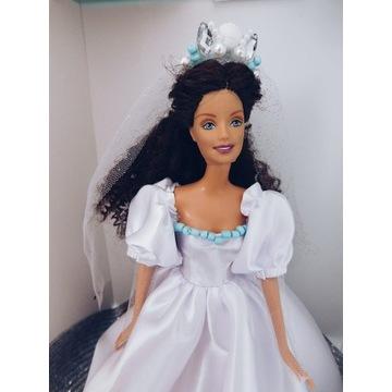 Suknia ślubna ubranko dla lalki inspirowane Ariel