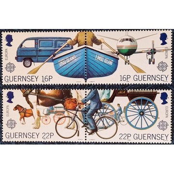 Motoryzacja - GUERNSEY** 1988