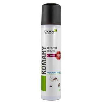 VACO Spray na kleszcze komary i meszki dla rodziny