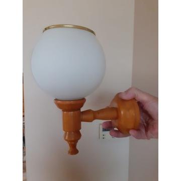 Komplet oświetlenia lampa, żyrandol, 2 kinkiety