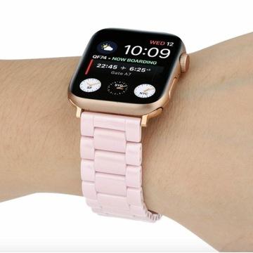 Apple Watch 38/40 Pasek Bransoleta Ceramiczna Róż