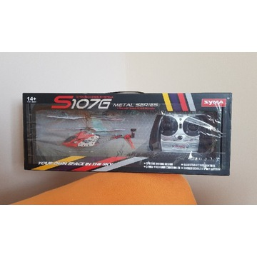 NOWY zdalnie sterowany helikopter samolot s107g