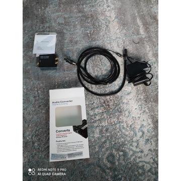Converter sygnału audio z  cyfrowego na analogowy