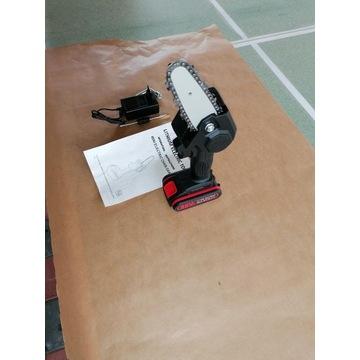 Mini elektryczna piła łańcuchowa bateria litow0-jo