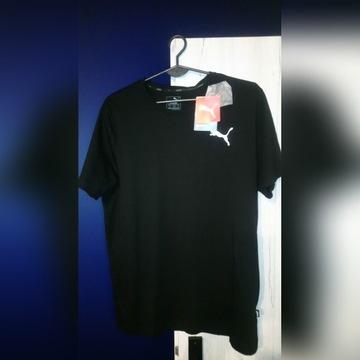 Tshirt koszulka puma czarna