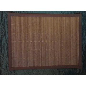 PODKŁADKI NA STÓŁ 33x44 Bambus na płótnie kpl.NOWE