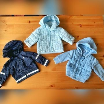 Zestaw ubrań i obuwie dla niemowlaka