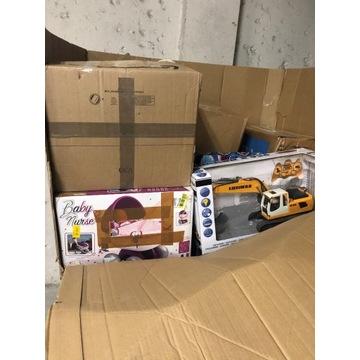 Paleta zabawek ze zwrotów bezpośrednio z Amazon 3