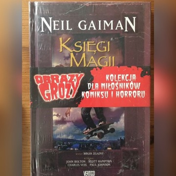 Neil Gaiman Księgi Magii NOWA FOLIA