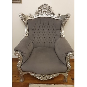 Fotel barokowy/glamour