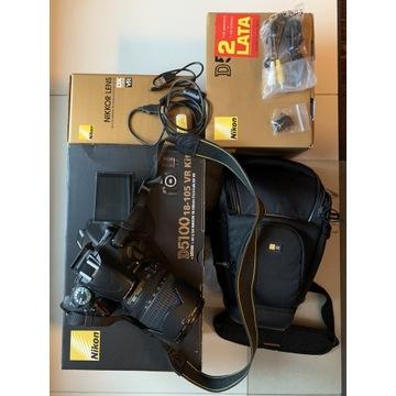 Nikon D5100+AF-S DX Nikkor 18-105 f/3.5-5.6G ED VR