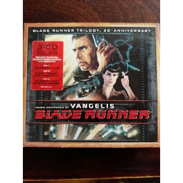 Blade runner Trilogy 25th Anniversary 3CD