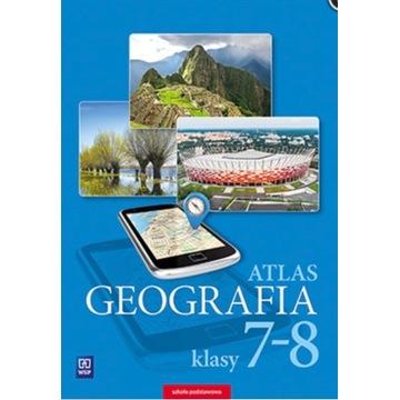 ATLAS GEOGRAFIA 7-8 WSiP