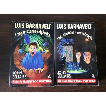 Luis Barnavelt dla fanów Harry'ego Pottera KOMPLET