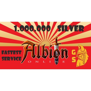 Silver/Srebro Albion Online 1kk - in 5 min