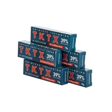 Maść znieczulająca do tattoo TKTX 39%|100%oryginał