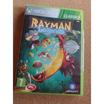 RAYMAN Legends, wersja pudełkowa PL, XBOX360