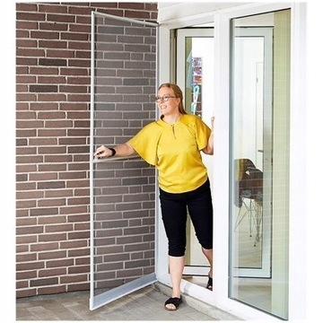Moskitiera do drzwi 210 na 100