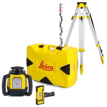 Niwelator laserowy Leica Rugby 610 + RE160