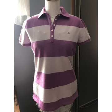 Damska bluzka polo Tommy Hilfiger profilowana M