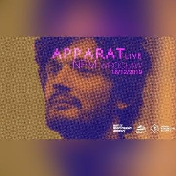 Bilety APPARAT Live Wrocław 16 grudnia 2019