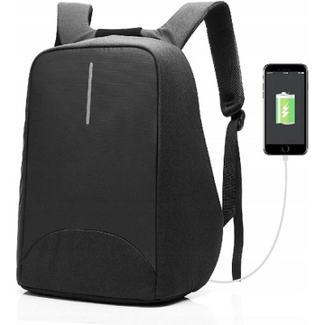"Plecak na laptopa CoolBell CB-8001 czarny 15,6"""