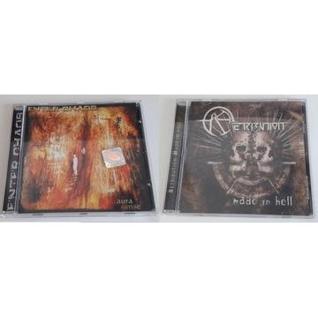 Zestaw CD polski metal: Retribution, Enter Chaos