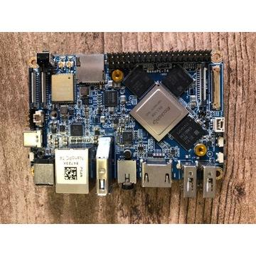 Minikomputer SBC FriendlyARM NanoPC T4 RK3399