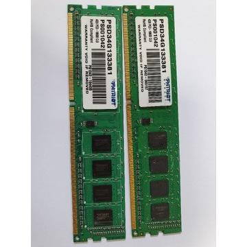 Pamięć RAM 8GB (2x4GB) 1333 MHz  DDR3 Aukcja BCM