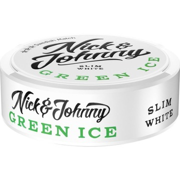 Nick johnny green ice  pudelka  od snus