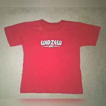 Koszulka bawełniana dla dziecka WIDZEW ŁÓDŹ