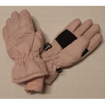 rękawiczki dziewczęce zimowe 8+