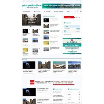 Portal internetowy z zapleczem redakcyjnym