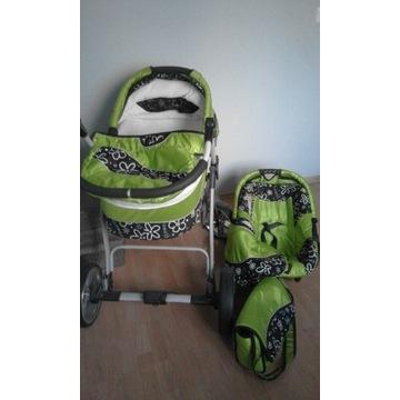 Wózek głęboki + torba