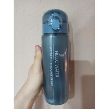 Butelka bidon na wodę, sok 780 ml niebieska duża