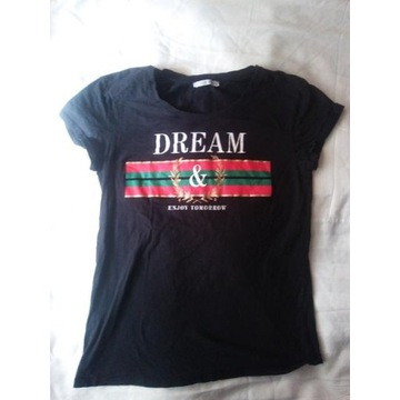 DREAM I ENJOY TOMORROW HAILYS t-shirt Damski M