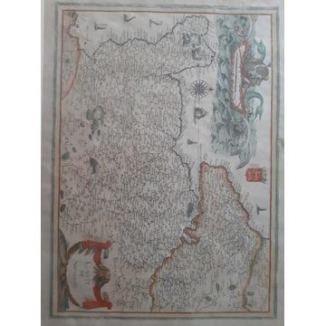 Mapa Normandii