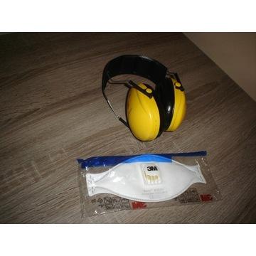 NAUSZNIKI 3M słuchawki  PELTOR OPTIME I 1  i maska