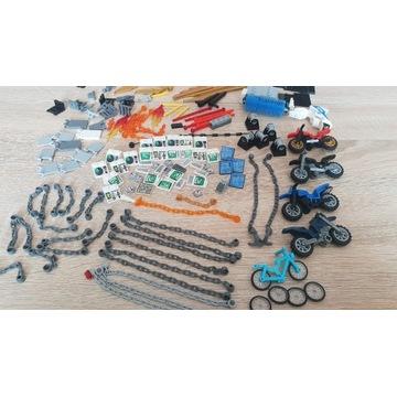Lego mega mix kg Akcesoria Motocykl Łańcuch itp