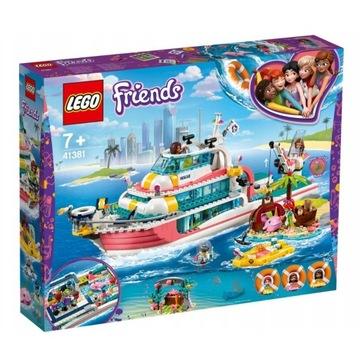 LEGO FRIENDS, Łódź ratunkowa, statek 41381
