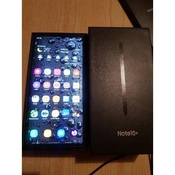 Zadbany Samsung Galaxy Note 10+     Gwarancja